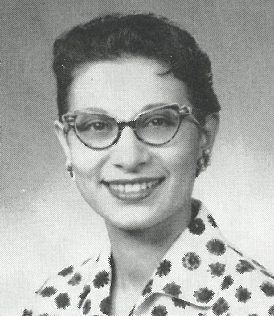 Anna Reid Yearbook Photo