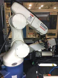 Robotic arm donated by Medtronic
