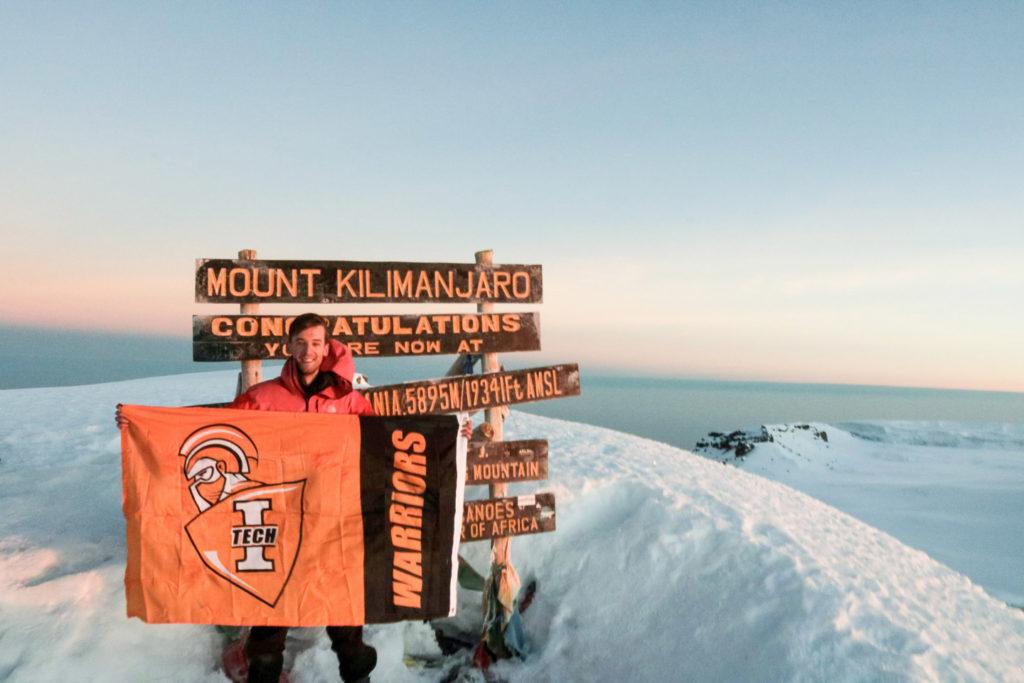 Joel Kuhn on Kilimanjaro