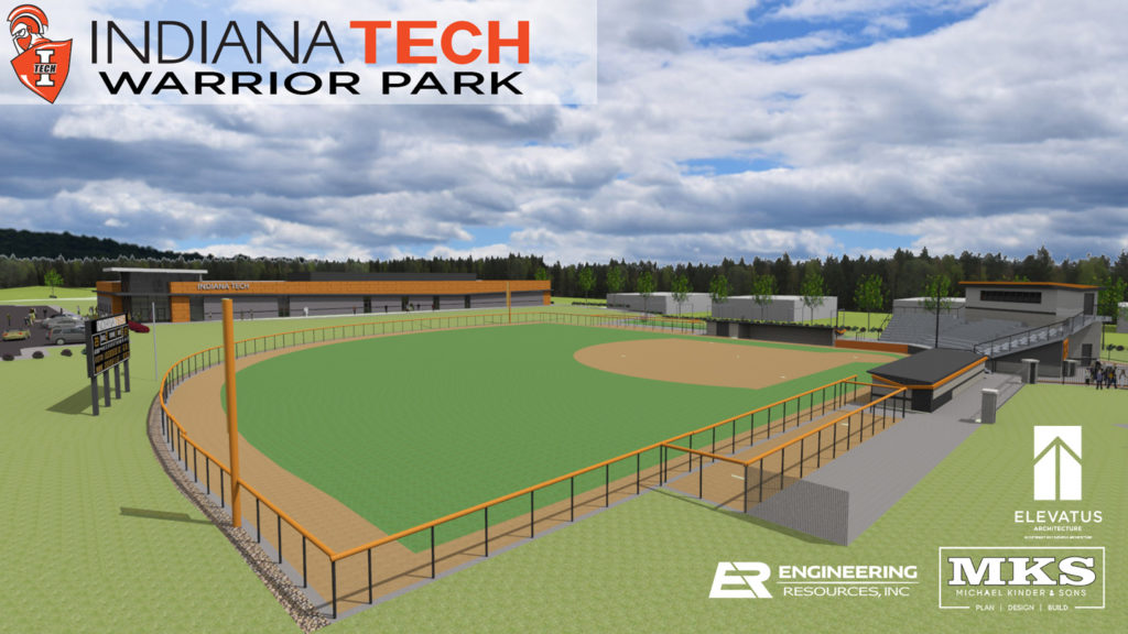 Warrior Park Baseball Field Rendering