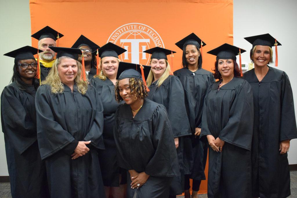 Louisville Graduates at the Louisville commencement celebration