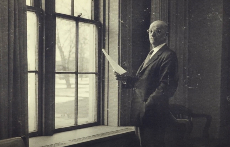 Indiana Tech's second president Archie T. Keene