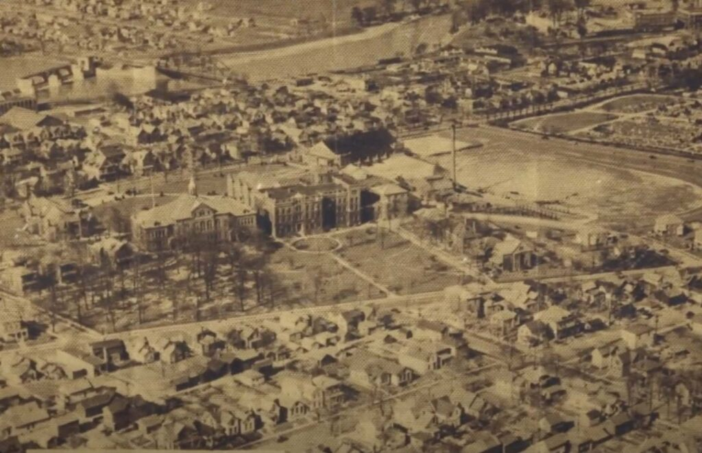 Indiana Tech Campus in 1957