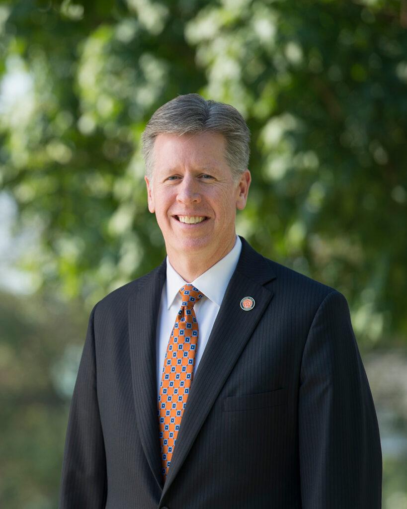 Indiana Tech President Karl W. Einolf