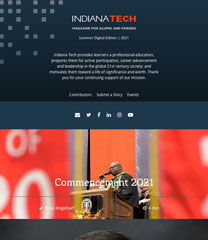 Indiana Tech Magazine - Summer 2021